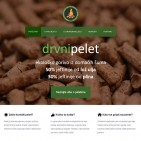 DrvniPelet.hr website